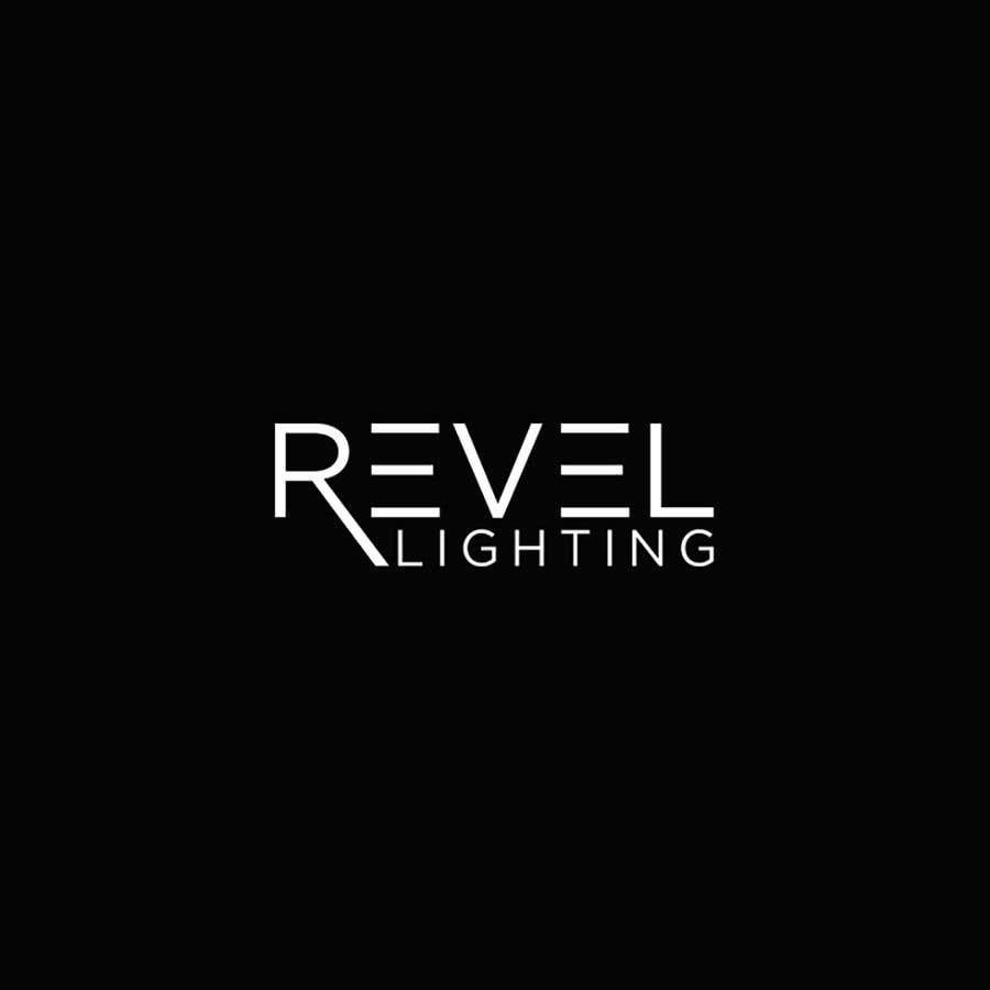 """Penyertaan Peraduan #435 untuk design """"revel"""" a brand logo"""