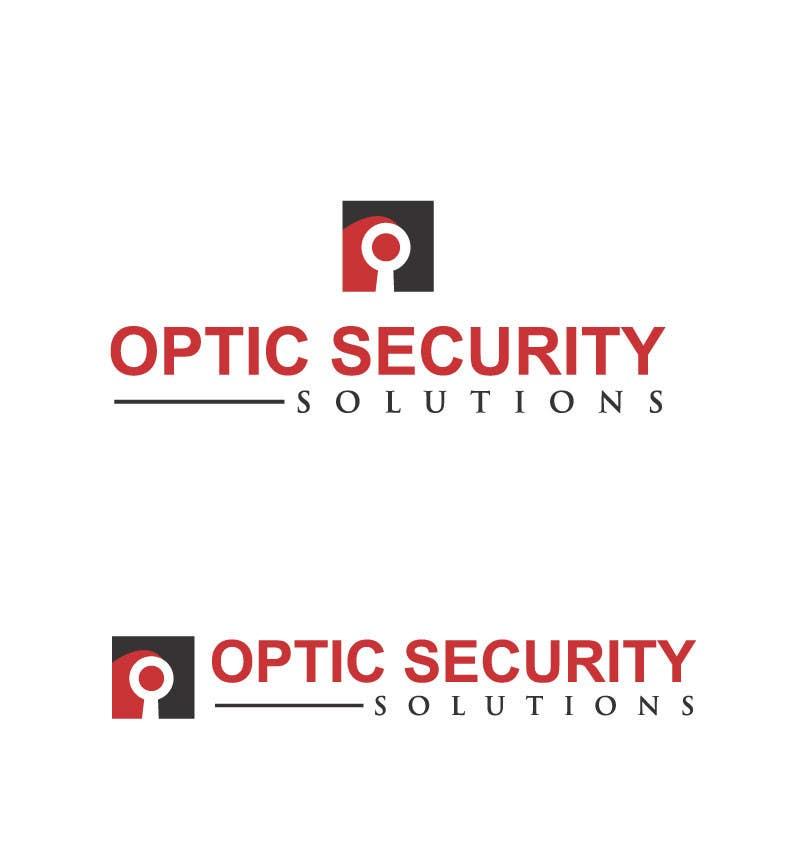 Bài tham dự cuộc thi #                                        14                                      cho                                         Design a Logo for Optic Security Solutions -- 2