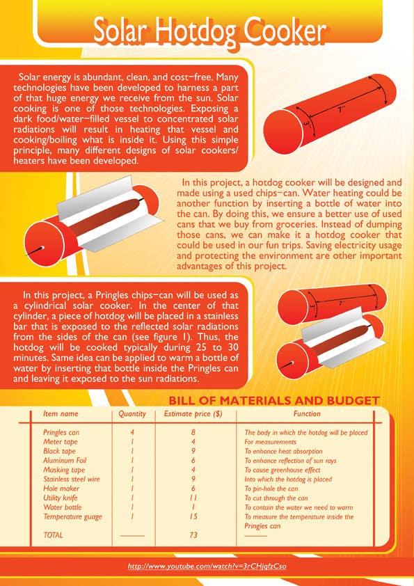 Bài tham dự cuộc thi #                                        7                                      cho                                         The Exciting Hot Dog Solar Cooker