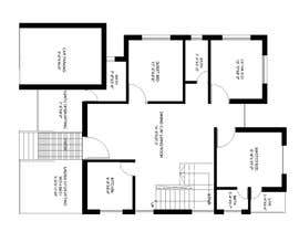 #52 for Need 2D Floor Plan for my home without elevation by farzanayesminbd