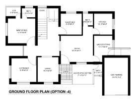 #67 for Need 2D Floor Plan for my home without elevation by farzanayesminbd