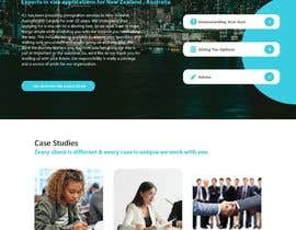 #66 untuk Design the homepage for an immigration consultancy! oleh j82890