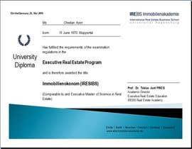 #79 for University Certificate af Kareemullas7868