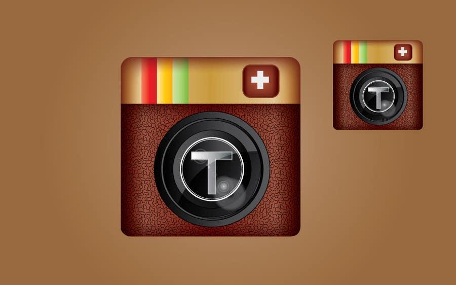 Penyertaan Peraduan #                                        9                                      untuk                                         App Design for  iPhone icon (only 1 icon needed)