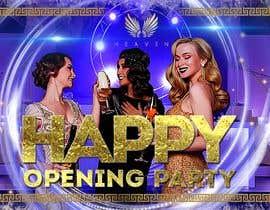 """Nro 64 kilpailuun """"Happy"""" party events creative concept - facebook cover käyttäjältä Sistah187"""
