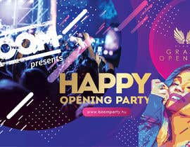 "Nro 61 kilpailuun ""Happy"" party events creative concept - facebook cover käyttäjältä Manaf007"