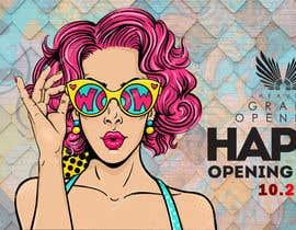 """Nro 56 kilpailuun """"Happy"""" party events creative concept - facebook cover käyttäjältä tusher98"""