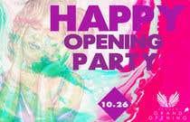 "Graphic Design Kilpailutyö #45 kilpailuun ""Happy"" party events creative concept - facebook cover"