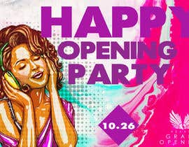 "Nro 68 kilpailuun ""Happy"" party events creative concept - facebook cover käyttäjältä MIXLOGO1"