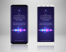 #17 for Voice Assistant Mockup Design by gkhaus