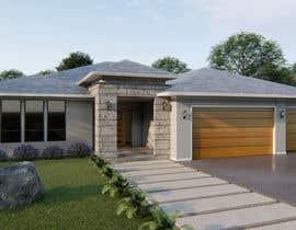 #32 for 3D model / Rendering - residential af alokbhagat