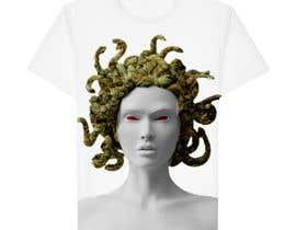Invoker6969 tarafından Printful T-Shirt Design için no 127
