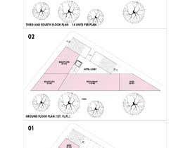 #8 pentru Commercial Building 2D Layout / Plan / Concept/ Ideas drawing needed from scratch de către arquitecturamx