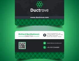 Nro 84 kilpailuun Design a Visiting Card käyttäjältä reshmamanohar19