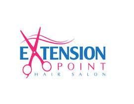 Nro 113 kilpailuun Logo for hair extension hairdresser käyttäjältä vmttnt