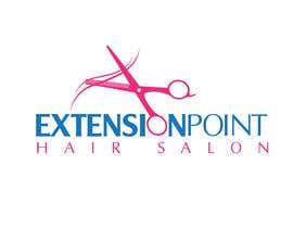 Nro 114 kilpailuun Logo for hair extension hairdresser käyttäjältä vmttnt