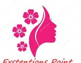 Nro 117 kilpailuun Logo for hair extension hairdresser käyttäjältä qielanani97qn