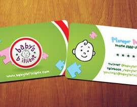 Manhattam tarafından Design some Business Cards for Baby's Brilliant için no 15