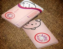 nazmulhassan2321 tarafından Design some Business Cards for Baby's Brilliant için no 24