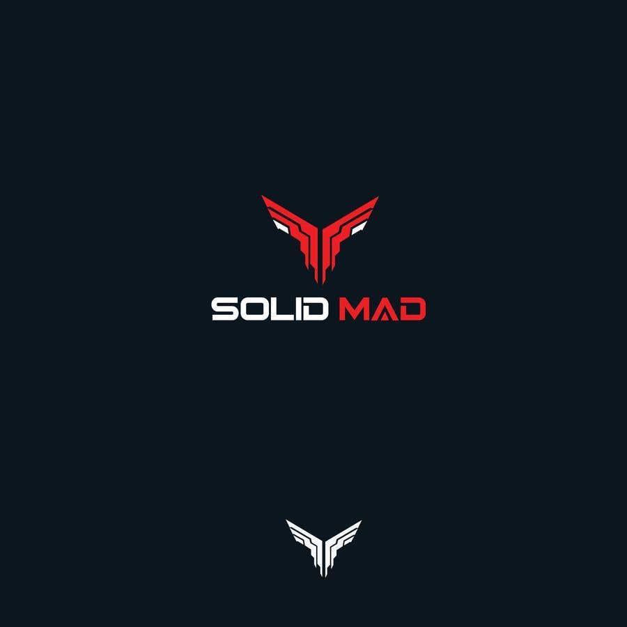 """Intrarea #5386 pentru concursul """"Logo for sportsware and sportsgear brand """"Solid Mad"""""""""""