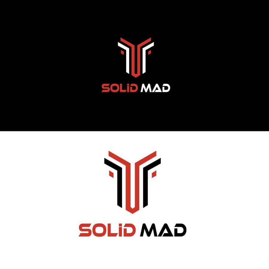 """Intrarea #                                        5436                                      pentru concursul """"                                        Logo for sportsware and sportsgear brand """"Solid Mad""""                                     """""""