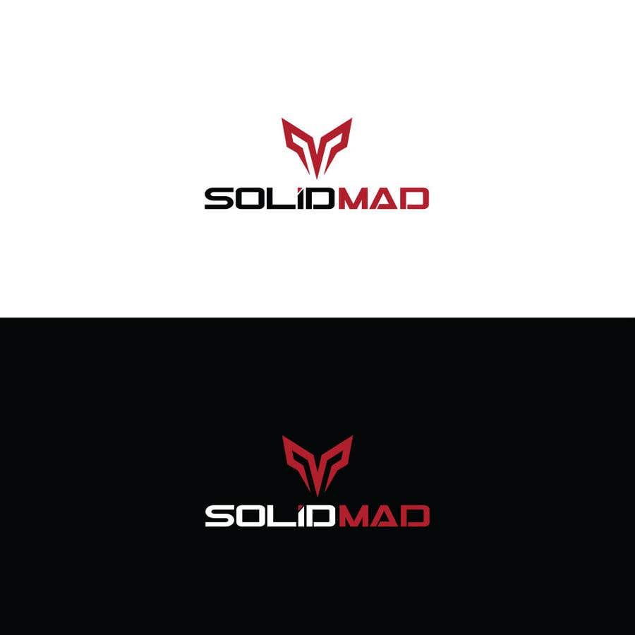 """Intrarea #4240 pentru concursul """"Logo for sportsware and sportsgear brand """"Solid Mad"""""""""""