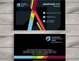 Nro 104 kilpailuun Design Business Cards käyttäjältä Ahmadakram