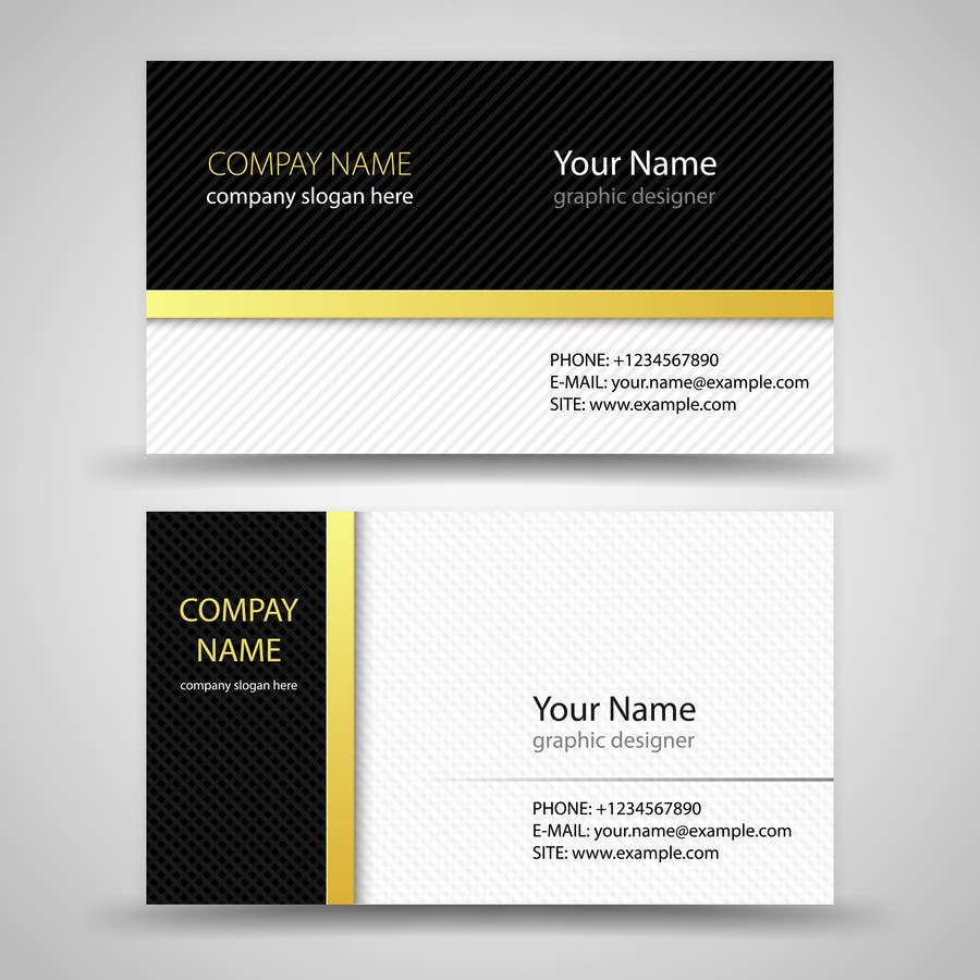 Entry #58 by rbgranados for Design some Business Cards for Hotel ...