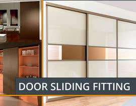 #7 cho Design a Banner for Door Sliding fittings for our website bởi DariaLion