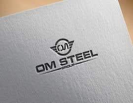 #66 untuk Logo for our Company OM STEEL GROUP oleh Designerforhad