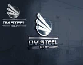 #94 untuk Logo for our Company OM STEEL GROUP oleh primonchowdhury