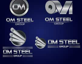#99 untuk Logo for our Company OM STEEL GROUP oleh primonchowdhury