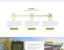 #72 untuk Update Front Page of Website oleh leandeganos
