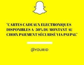 #1 untuk Quick ad for Snapchat and Instagram stories oleh Aftabk710