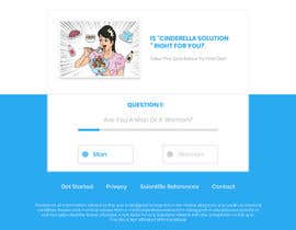 #25 for Design a very simple quiz webpage in a modern and attractive way by RoyalEffects