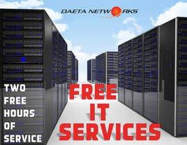 #4 para Create a postcard for two hours of free IT services por sashasviridova