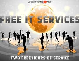 #5 para Create a postcard for two hours of free IT services por sashasviridova