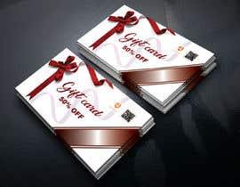 #20 cho Gift card design bởi sahanazakter1998