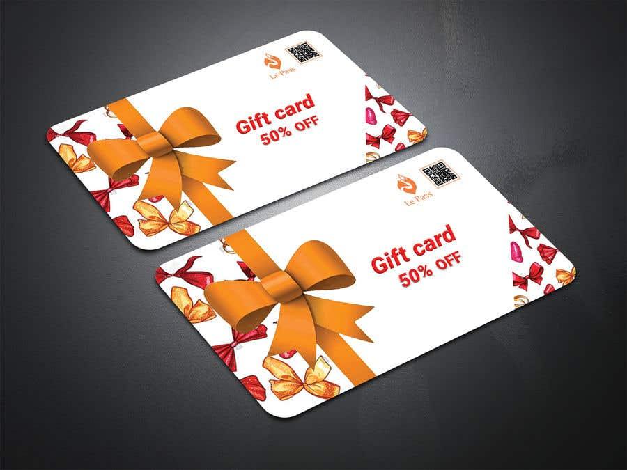 Bài tham dự cuộc thi #26 cho Gift card design