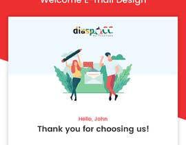 Nro 17 kilpailuun Welcome E-Mail Design - UI/UX Designer käyttäjältä husainmill