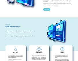 #4 cho design psd for an homepage, abstract design style bởi XeniaDP