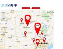 nº 43 pour Need Graphic of Service Area Map par ExpertSajjad