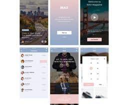 #18 cho UI/UX/branding for positioning service (Mobile browser) bởi SK813