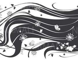 #20 untuk Hair art for wall decal oleh kaushalyasenavi