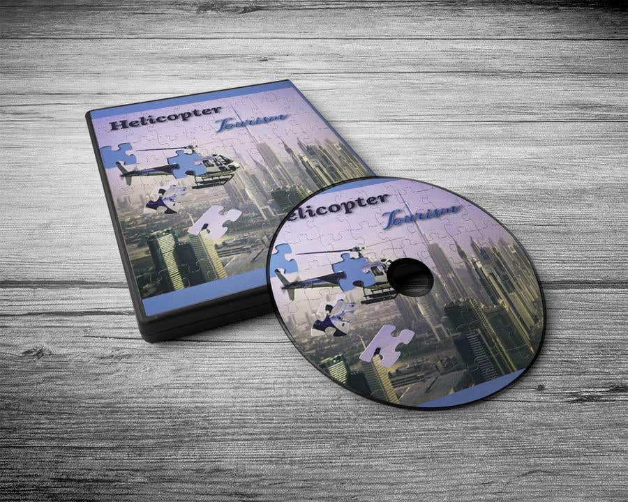 Kilpailutyö #24 kilpailussa DVD cover - Helico Tourism