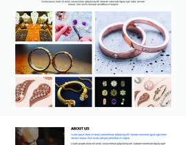 #46 for Website-Design for a OnePage (no coding) for handmade jewelry and other stuff by WebCraft111