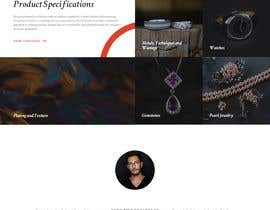 #27 for Website-Design for a OnePage (no coding) for handmade jewelry and other stuff by kadir01