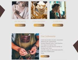 #33 for Website-Design for a OnePage (no coding) for handmade jewelry and other stuff by BwBest