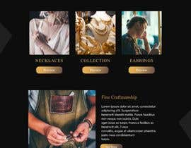 #34 for Website-Design for a OnePage (no coding) for handmade jewelry and other stuff by BwBest