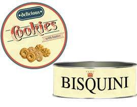 #7 untuk Retro design of Danish Butter cookie in round  tin oleh anamariacionca08